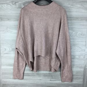 Melrose and Market Pink Dolman Sleeve Sweater